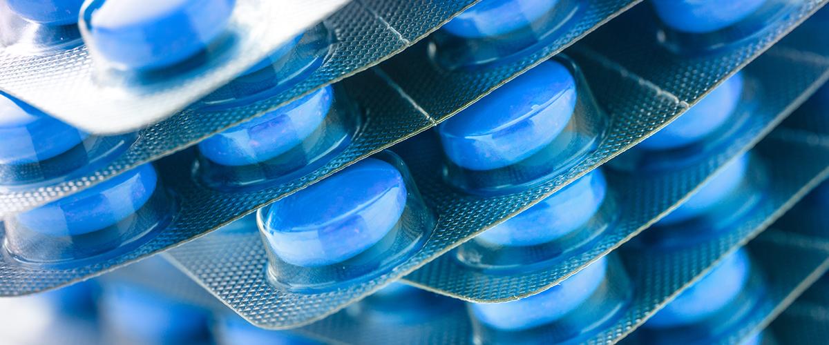 Blister azul